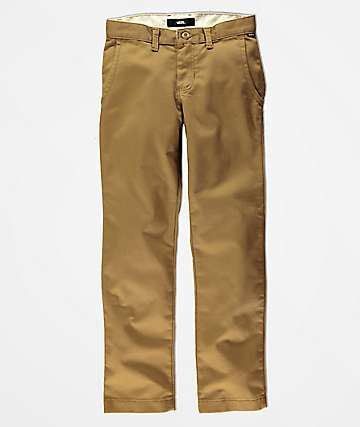 Vans Boys Authentic Dirt Stretch Chino Pants