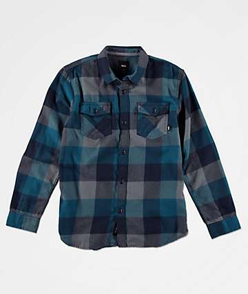 Vans Boys Box Corsair Flannel Shirt