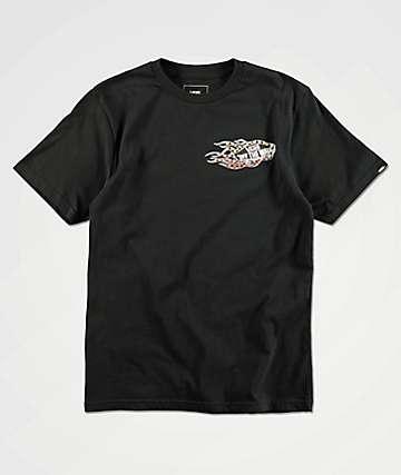 Vans Boys Burnout Black T-Shirt