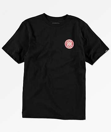 Vans Boys Checker Co. Black T-Shirt