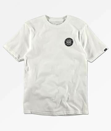 Vans Boys Checker Co. White T-Shirt