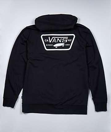 Vans Boys Full Patched II Black Hoodie