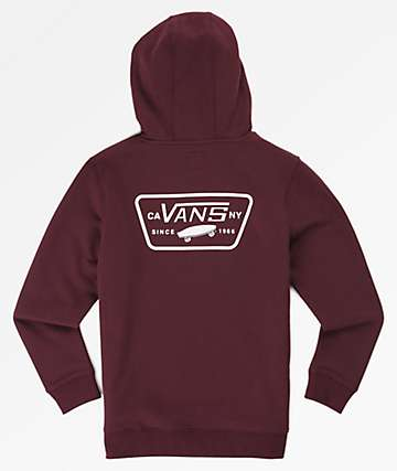 Vans Boys Full Patched Port Hoodie