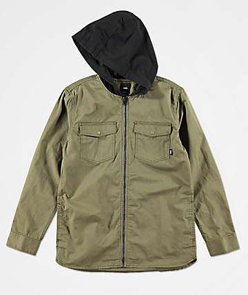 Vans Boys Higgins Grape Leaf Jacket