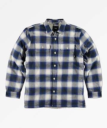 Vans Boys Loomis Sherpa Flannel Shirt