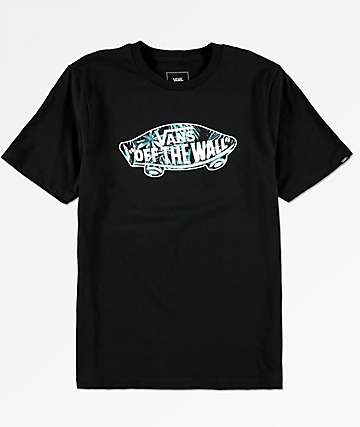 Vans Boys OTW Logo Black T-Shirt