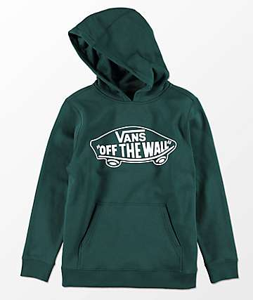 Vans Boys Off The Wall Darkest Spruce Hoodie