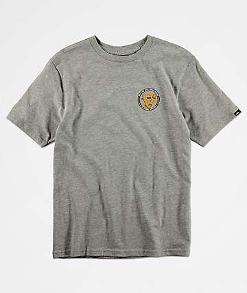 Vans Boys Old Skool V Grey T-Shirt