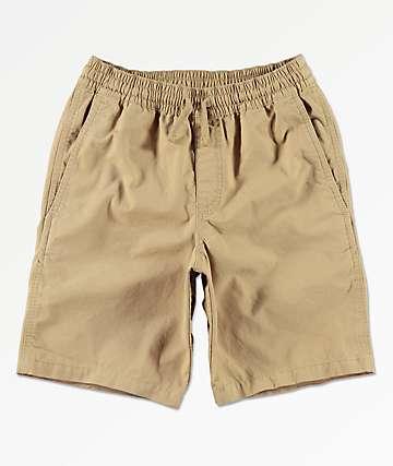 """Vans Boys Range 17"""" Khaki Shorts"""