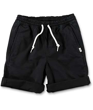Vans Boys Range Black Chino Shorts