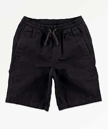 Vans Boys Range Black Shorts