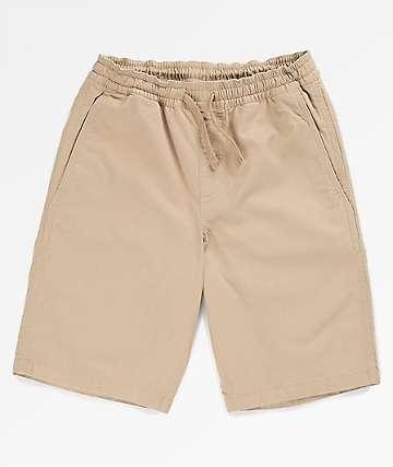 Vans Boys Range Khaki Shorts