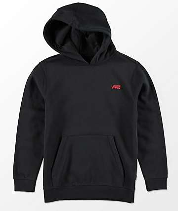Vans Boys Sketch Tape Black Hoodie