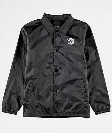 Vans Boys Torrey Black Coaches Jacket