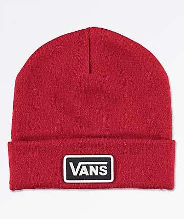 Vans Breakin Curfew Red Beanie