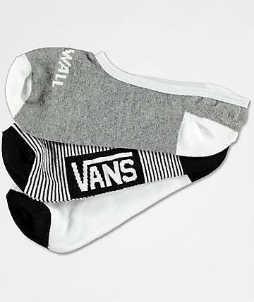 Vans Canoodle Arched 3 Pack No Show Socks