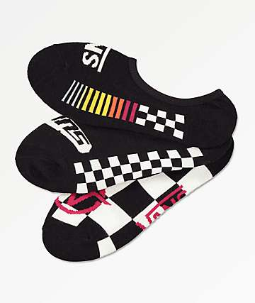 Vans Canoodle Final Course 3 Pack No Show Socks
