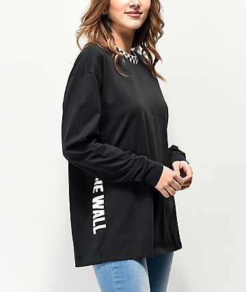 Vans Central Black Long Sleeve T-Shirt