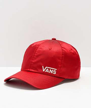 Vans Chamber gorra roja 330c9e9725a