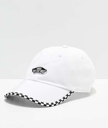 Vans Check It White Strapback Hat