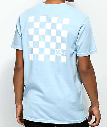 Vans Check Set Baby Blue T-Shirt