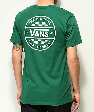 Vans Checker Co. Green T-Shirt