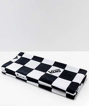 Vans Checkerboard Black & White Beach Towel