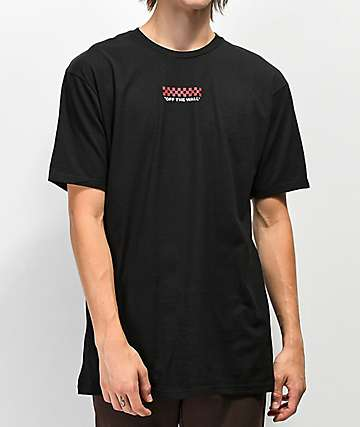 Vans Checkered Black T-Shirt