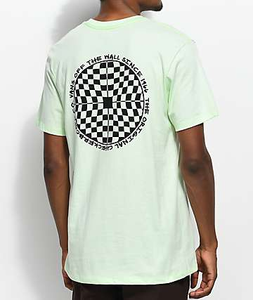 Vans Checkered Green T-Shirt