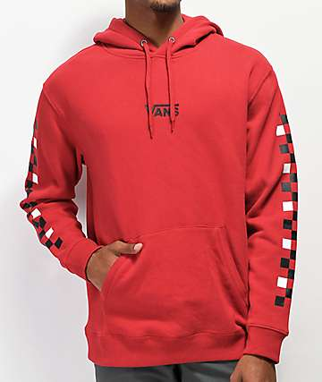 Vans Checkered Red Hoodie