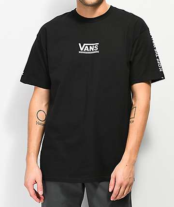 Vans Checkmate III Black T-Shirt