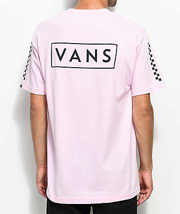 Bright Coral Classic Logo T-Shirt - Pink Vans Free Shipping Enjoy Cheap Excellent Shipping Outlet Store Online Cheap Price Store Frsvp8Y5R