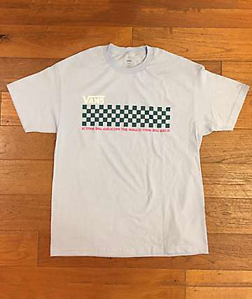 Vans Checkwork Baby Blue T-Shirt