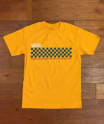 Vans Checkwork Gold T-Shirt