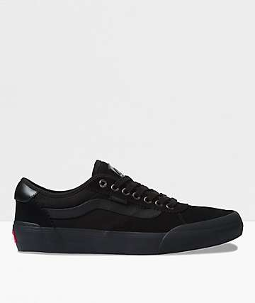 Vans Chima Pro 2 Blackout Skate Shoes