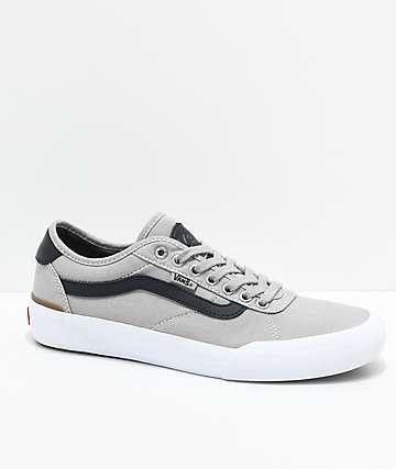 Vans Chima Pro 2 Drizzle zapatos de skate en gris y negro