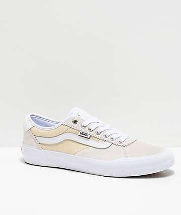 Vans Chima Pro 2 White Skate Shoes