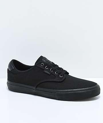Vans Chima Pro Blackout Skate Shoes