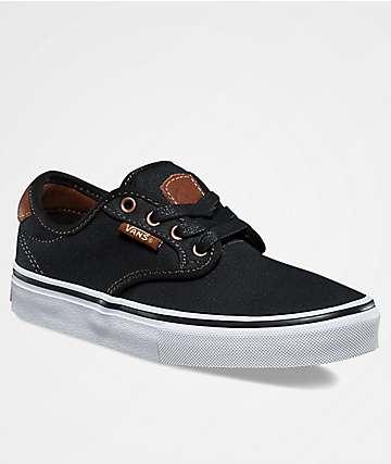 Vans Chima Pro Brushed Black Twill Shoes