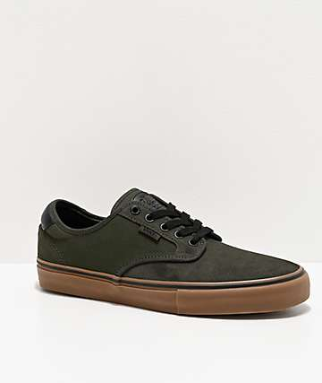 Vans Chima Pro Forest Night & Gum Skate Shoes