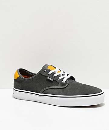 Vans Chima Pro Pewter & Mango Mojito Skate Shoes