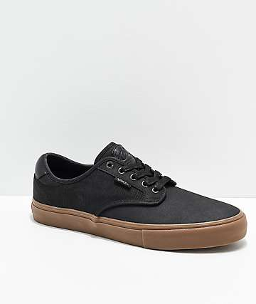 Vans Chima Pro X-Tuff Black & Gum Skate Shoes