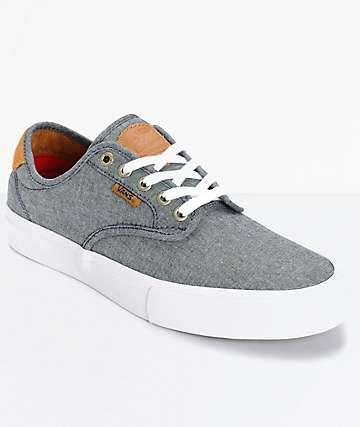 Vans Chima Pro zapatos de skate en cambray y pana (hombre)