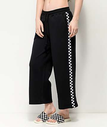 Vans Chromo pantalones negros de punto