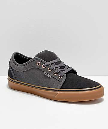 b4dacd88fa5551 Vans Chukka Low Asphalt Pewter Skate Shoes