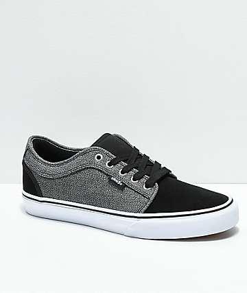 Vans Chukka Low Black & Dark Grey Shoes