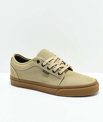 Vans Chukka Low Cornstalk & Gum Skate Shoes