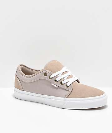 Vans Chukka Low Humus & White Skate Shoes