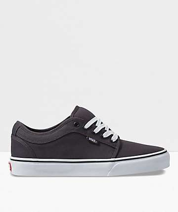 Vans Chukka Low Obsidian & Black Skate Shoes