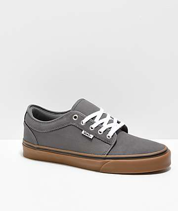 316c0a0ced16c6 Vans Chukka Low Pewter   Gum Skate Shoes